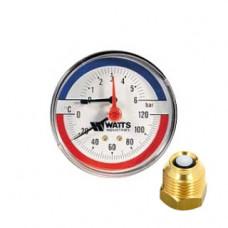 WATTS Термоманометр TMAX 1/2
