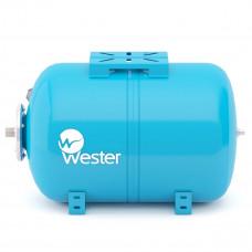 WESTER Гидроаккумулятор горизонтальный WAO 24 л, 10 бар, сменная мембрана