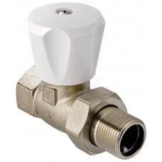 VALTEC Клапан для радиатора регулировочный прямой 1/2
