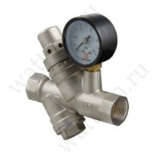 VALTEC Подпиточный клапан с фильтром и манометром 1/2