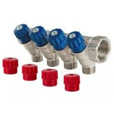 VALTEC Коллектор регулирующими вентилями 1