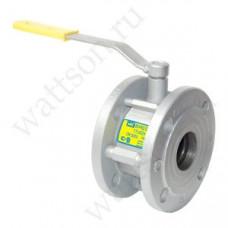 BREEZE Кран шаровой 11с42п Ду 040/040 ф/ф, сталь, вода, прир.газ, Ру16, Т-30:+200°С, класс А, L - 84 мм